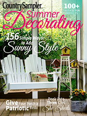 Country Sampler Summer Decorating