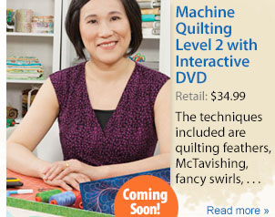 Machine Quilting Level 2 with Interactive DVD