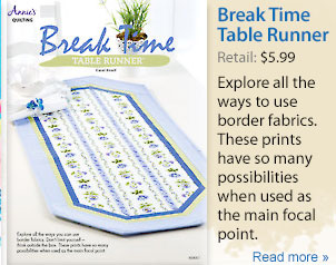 Break Time Table Runner