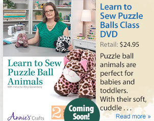Learn to Sew Puzzle Balls Class DVD