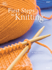 First Steps in Knitting