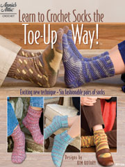 Learn to Crochet Socks the Toe-Up Way