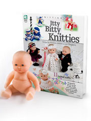 "Itty Bitty Knitties� with Lots To Love 5"" Baby�"