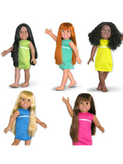 "Springfield Girls 18"" Dolls"
