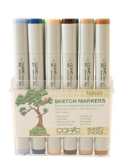 Nature 12 pc Sketch Set (Copic Markers)
