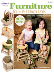 Furniture for 5 & 10-Inch Dolls