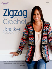 Zigzag Crochet Jacket