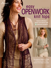 Easy Openwork Knit Tops