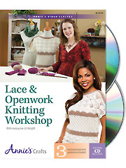 Lace & Openwork Knitting Workshop Class DVD
