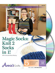 Magic Socks: Knit 2 in 1 Class DVD