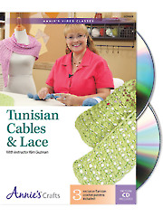 Cables & Lace Tunisian Crochet Class DVD