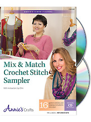 Mix & Match Crochet Stitch Sampler Class DVD