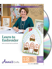 Learn to Embroider Class DVD