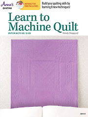 Learn to Machine Quilt with Interactive Class DVD