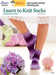 Learn to Knit Socks with Interactive DVD
