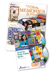 T-Shirts, Memories & More/Learn to Make T-Shirt Quilts Class DVD