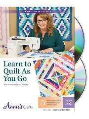 Learn to Quilt as You Go Class DVD