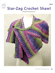 Knit/Crochet FeatureStar Zag Crochet Shawl