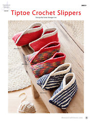 Tiptoe Crochet Slippers