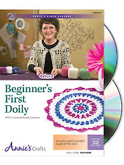 Knit/Crochet FeatureBeginner's First Doily Class DVD