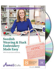 Swedish Weaving & Huck Embroidery Made Easy Class DVD