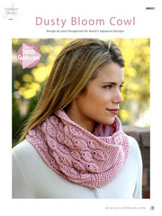 Dusty Bloom Cowl