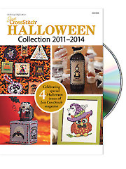 <i>Just CrossStitch</i> Halloween Collection 2011-2014 CD
