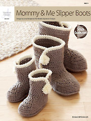 Mommy & Me Slipper Boots