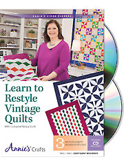 Learn to Restyle Vintage Quilts DVD