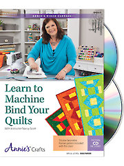 Quilt/Sew FeatureLearn to Machine Bind Your Quilts Class DVD