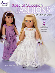 "Special Occasion Fashions for 18"" Dolls"