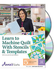 Learn to Machine Quilt With Stencils & Templates Class DVD