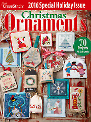 General FeatureJust CrossStitch Christmas Ornaments 2016