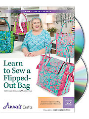 Quilt/Sew FeatureLearn to Sew a Flipped-Out Bag! Class DVD