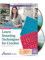 Learn Seaming Techniques for Crochet Class DVD