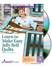 Learn to Make Easy Jelly Roll Quilts Class DVD