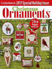 General FeatureJust CrossStitch Ornaments 2017