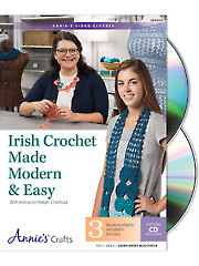 General FeatureIrish Crochet Made Modern & Easy Class DVD