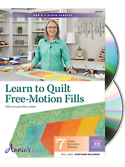 Learn to Quilt Free-Motion Fills Class DVD