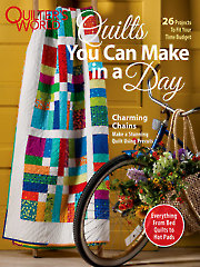 Quilt/Sew FeatureQuilts You Can Make in a Day