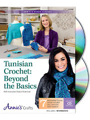 Tunisian Crochet: Beyond the Basics Class DVD