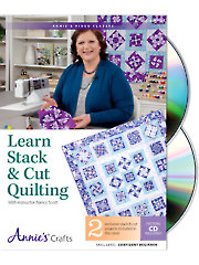 Learn Stack & Cut Quilting Class DVD