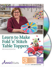Learn to Make Fold 'n' Stitch Class DVD