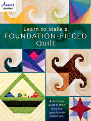 Learn to Make a Foundation Pieced Quilt