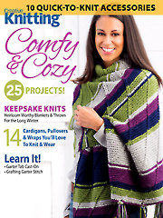 Knit/Crochet FeatureCreative Knitting, Comfy & Cozy