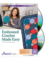 General FeatureEmbossed Crochet Made Easy Class DVD