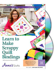 Learn to Make Scrappy Quilt Bindings Class DVD