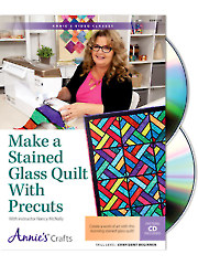 Make a Stained Glass Quilt With Precuts Class DVD