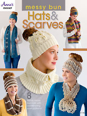Knit/Crochet FeatureMessy Bun Hats & Scarves