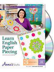 Learn English Paper Piecing Class DVD
